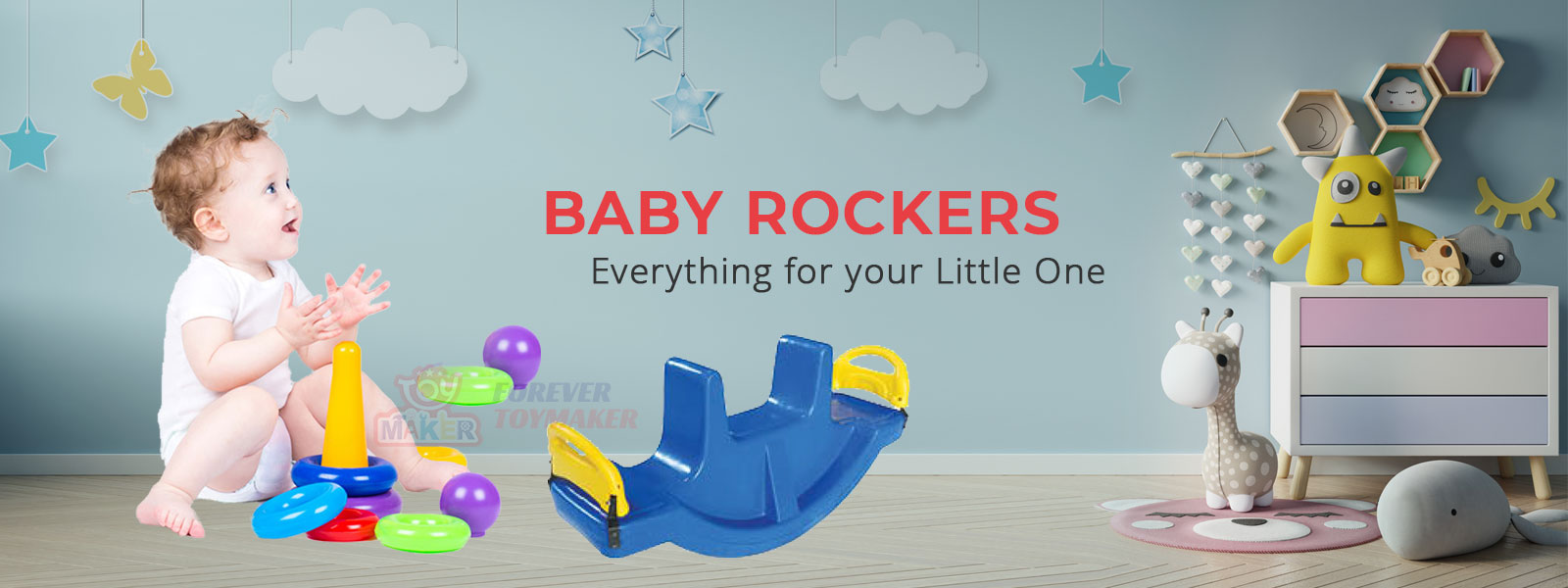 Baby Rockers Manufacturers in Noida
