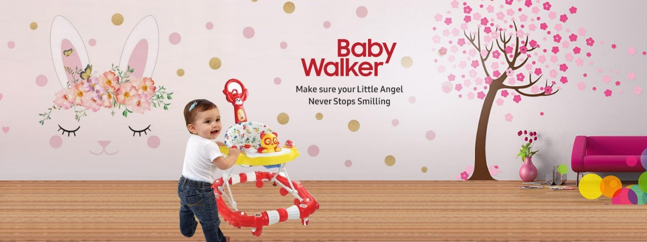 Baby Walker Manufacturers in Noida