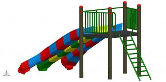 Kids Outdoor Slides Manufacturers in Ahmedabad