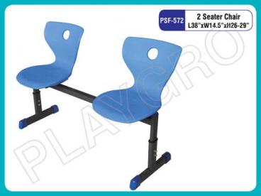 2 Seater School Chair