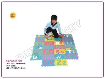 Alphabet Mat (Set of 26 Pcs.)