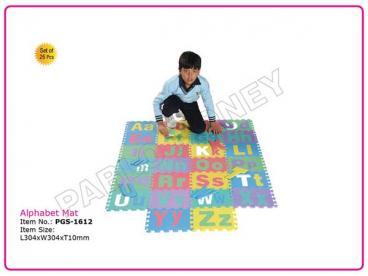 Alphabet Mat (Set of 26 Pcs.)