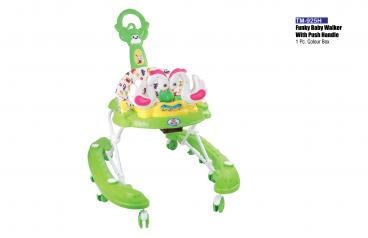 Funky Baby Walker with Push Handle
