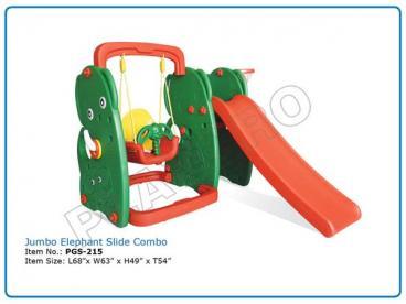 Jumbo Elephant Slide Combo