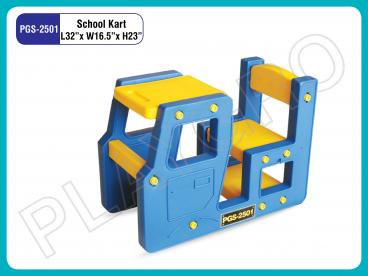 Nursery School Kart Single Desk