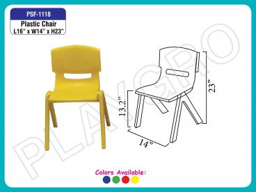 Play School Plastic Chairs