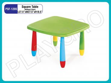 Preschool Square Table