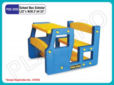 School Bus Scholar Single Desk