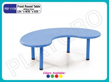School Front Round Table