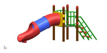 Slide 3 Pcs Tunnel