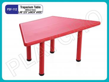 Trapezium Table for School